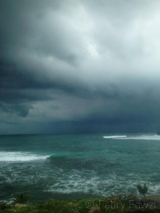 Langit yang mengganas