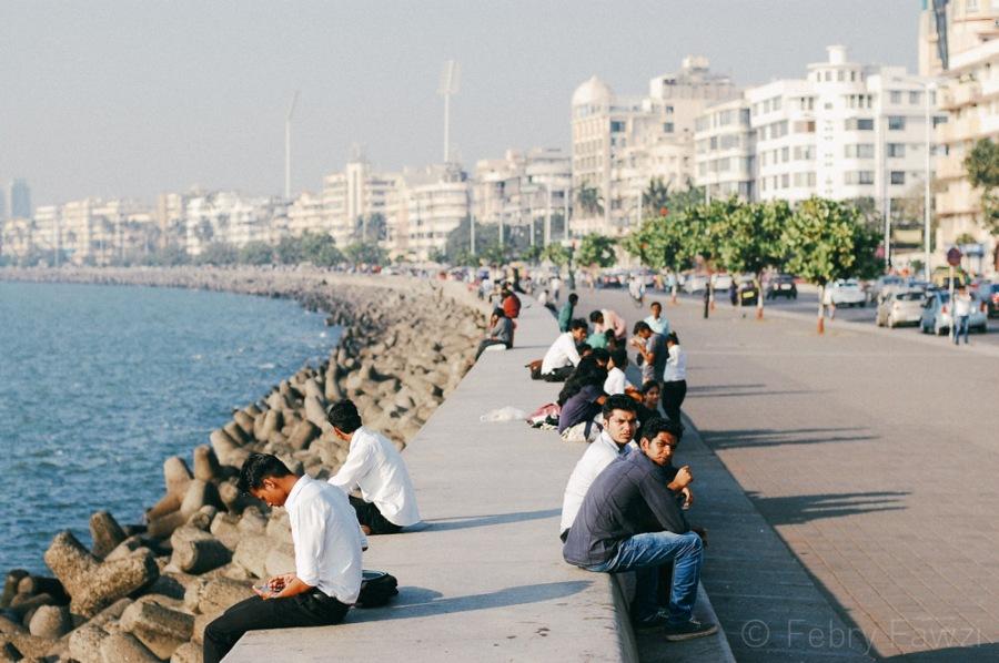 Santai sore bareng akamsi Mumbai