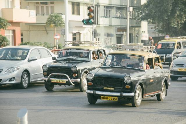 Taxi di Mumbai