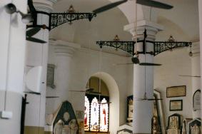 Detil interior di Afghan Church